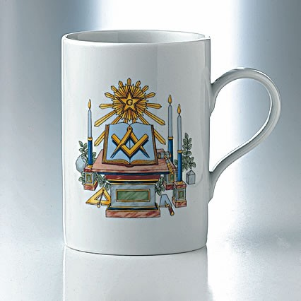 Mug FELLOW CRAFT without chain