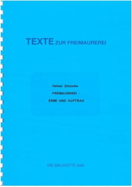 Freimaurerei - Erbe und Auftrag
