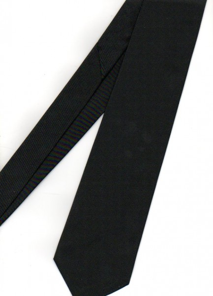 Tie black without logo