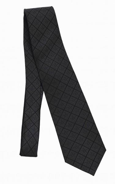 Krawatte Winkel & Zirkel Ton in Ton
