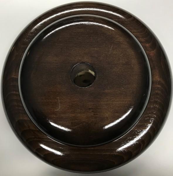Holzsockel für Zeremonienstab