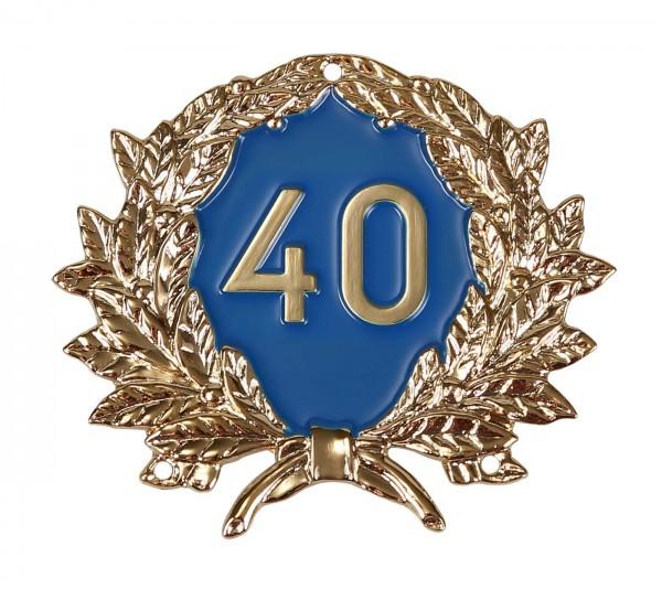 Jubiläumszeichen 40 Jahre