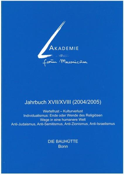 Akad. Forum Masonicum Jahrbuch 2004/2005