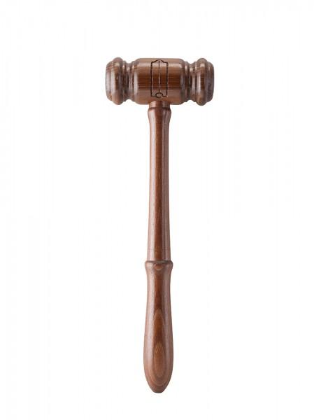 Hammer mit Senkblei 2. Aufseher