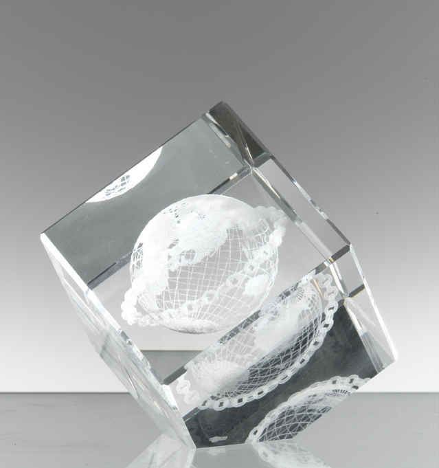 Briefbeschwerer Glas Geschenke Masonica Schneider