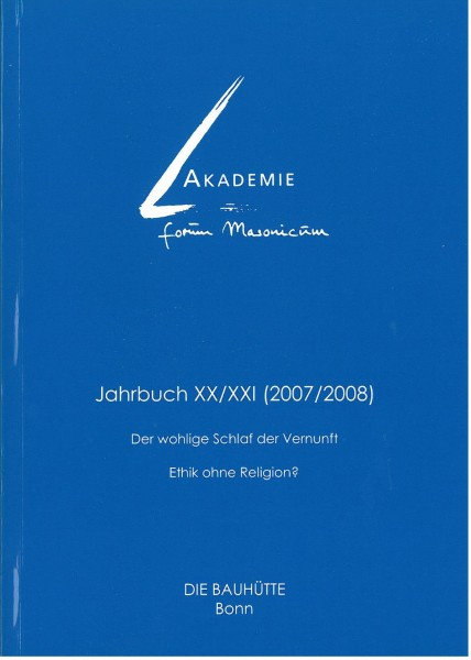 Akad. Forum Masonicum Jahrbuch 2007/2008