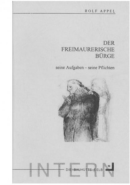 Der Freimaurerische Bürge - seine Aufgaben - seine Pflichten