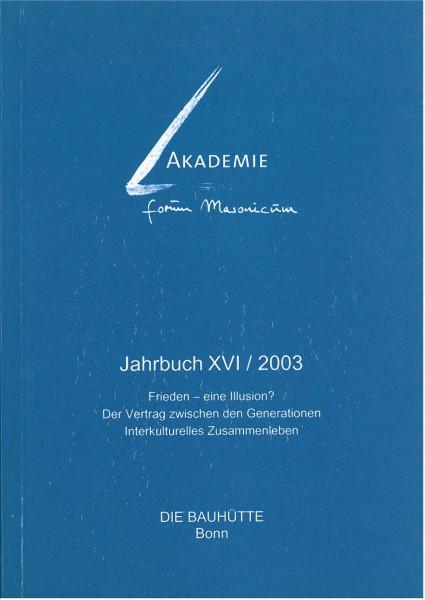 Akad. Forum Masonicum Jahrbuch 2003