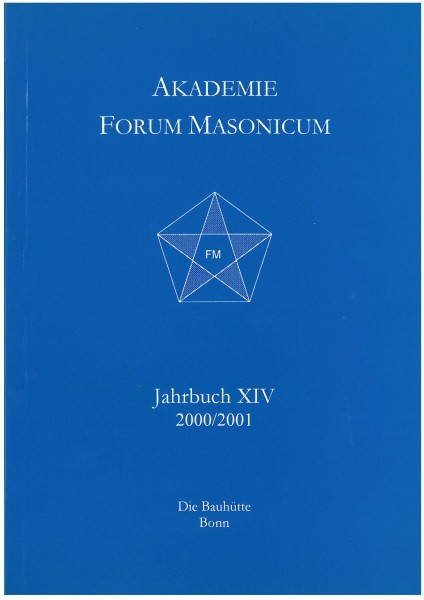 Akad. Forum Masonicum Jahrbuch 2000/2001