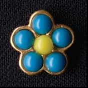 Lapel Pin Forget-me-not