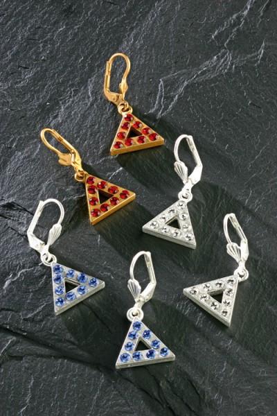 Ohrhänger Dreieck